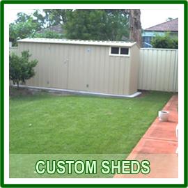Custom Sheds
